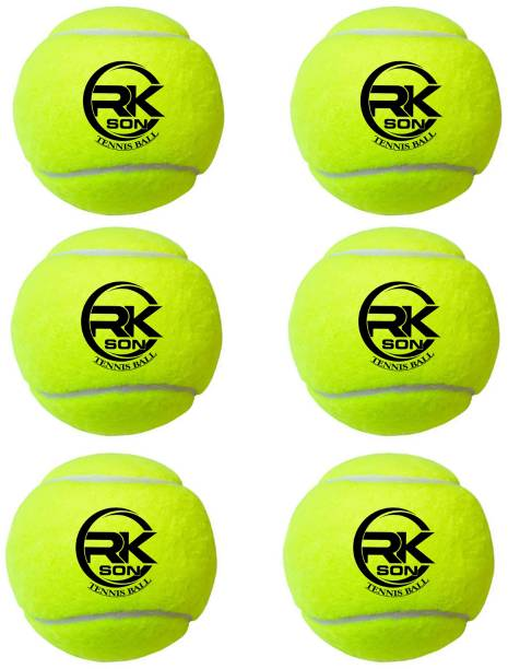 rk son balls 6 pcs Cricket Tennis Ball