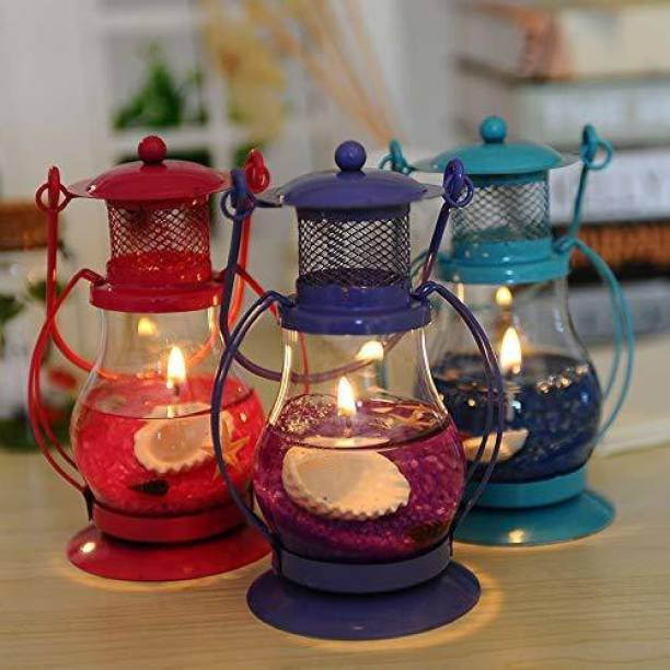 Hyattcreation GEL LANTERN CANDLE Candle