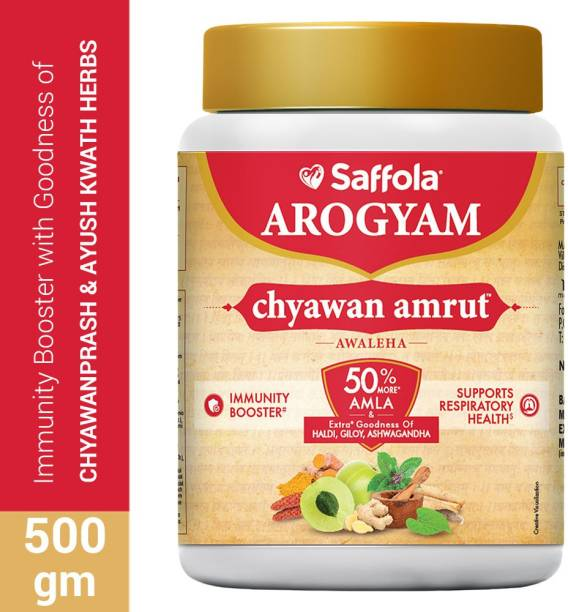 Saffola Arogyam ChyawanAmrut Awaleha, Immunity Booster for all ages