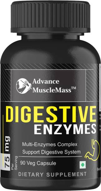 Advance MuscleMass Digestive Enzyme Capsule Capsules