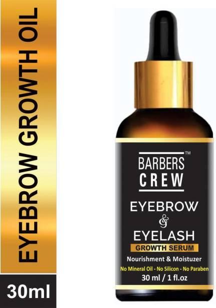 Barbers Crew Eyebrow & Eyelash Growth Oil Limited Edition for women- 30 ml