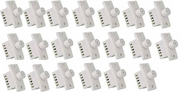 SUCHETA FAN REGULATOR-20 PCS Polycarbonate ( 7 STEPS) Step-Type Button Regulator