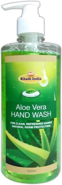 khadi natural herbal Aloevera Hand Wash Hand Wash Bottle