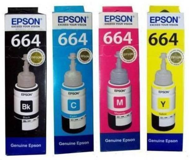 Epson 0319MK Black + Tri Color Combo Pack Ink Bottle