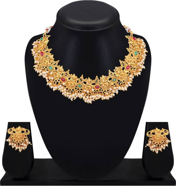 Atasi International Copper Jewel Set