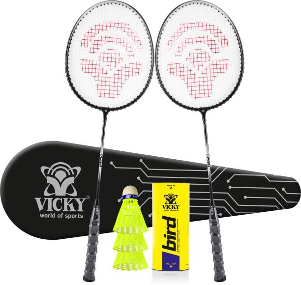 VICKY Smash Bird Racquet Combo Badminton Kit