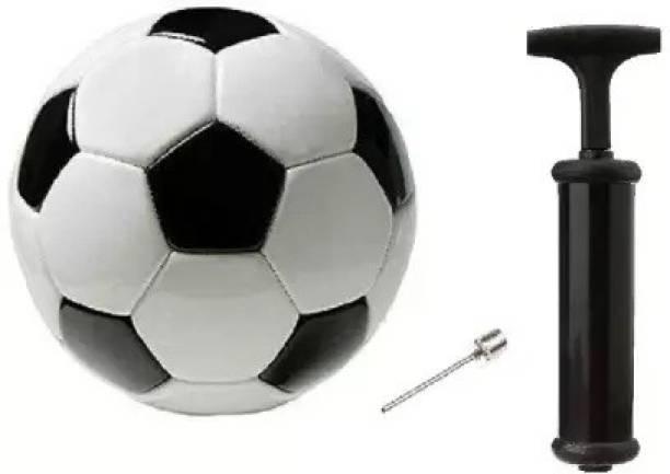 MRS Football Size-5 With Air pump Football Kit Football Kit