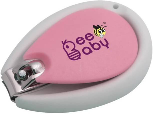 Beebaby Premium Nail Clipper for New born Babies (Pink)