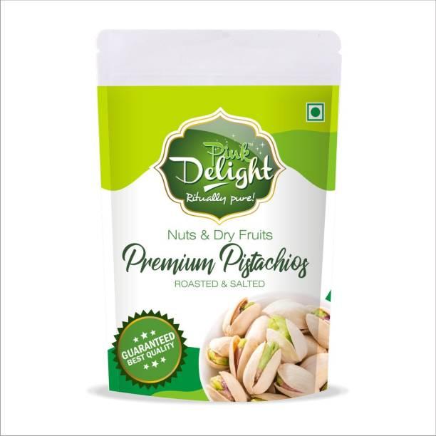 Pink Delight Premium Natural Roasted & Salted Pistachios Pistachios