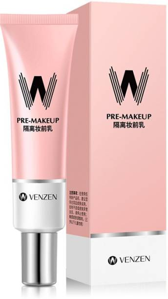 Venzen Primer Makeup Shrink Pore Primer Facial Smooth Brighten Skin Invisible Pores Concealer Primer  - 30 ml