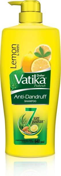 Dabur Anti Dandruff Shampoo - Power of 7 Natural Ingredients