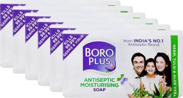 BOROPLUS Antiseptic + Moisturising Soap - Neem, Tulsi & Aloe Vera