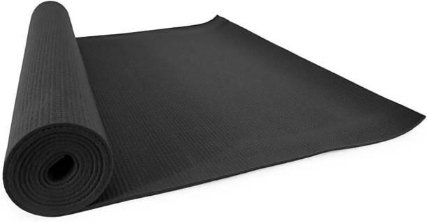 GROVERTEXOFAB ANTI-SKID BLACK PREMIUM QUALITY 5 mm Yoga Mat