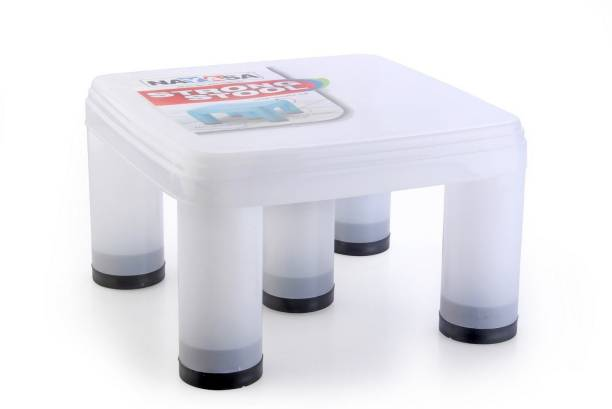 NAYASA Strong No 515 Plastic Patla, Clear Bathroom Stool