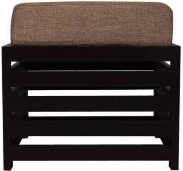 celebration enterprises 10X10 stylish wooden stool with cushion Living & Bedroom Stool (Black) Stool
