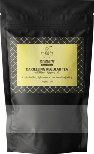 brewed leaf DARJEELING REGULAR TEA Black Tea Pouch