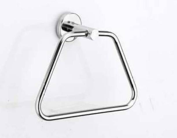 FINGERTIP Chrome Finish Towel Holder SILVER Towel Holder