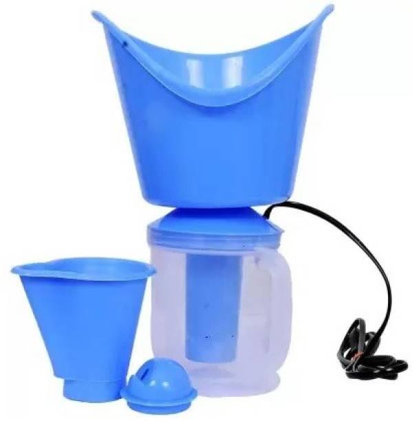 Kaushiki 3 in 1 Steam Vaporizer Nose Steamer, Cough Steamer, Nozzle Inhaler & Nose Vaporizer, Facial Steamer Vaporizer (White,Blue) Vaporizer
