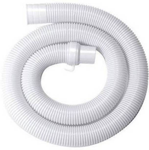 Vadhavan 2 Meter Washing machine Outlet pipe Corrugated Plastic Outlet/Drain/Extension Hose Suitable for All Fully/Semi Automatic Washing Machines Outlet (Length: 2 Meter, White) Hose Pipe 2 Meter Washing machine Outlet pipe Corrugated Plastic Outlet/Drain/Extension Hose Suitable for All Fully/Semi Automatic Washing Machines Outlet (Length: 2 Meter, White) Hose Pipe Hose Pipe