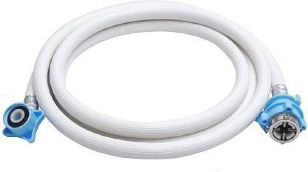 NIPRAM NATIONAL 3 METER Cold & Hot Water INLET PVC PIPE HOSE For Fully Automatic Top / Front Load / Loading Washing Machine Compatible With All Brands (LG, Samsung, Whirlpool, Godrej, Videocon, Panasonic, IFB, Bosch, Onida, Electrolux, Haier, Intex, GEM and Other Brands ) and All Sizes ( 5kg, 5.2kg, 5.5kg, 6kg, 6.2kg, 6.5kg, 7kg, 7.2kg, 7.5kg, 7.8kg, 8kg, 8.2kg, 8.5kg & 9kg) With Adapter to Connect With Tap Washing Machine Inlet Pipe Washing Machine Inlet Hose