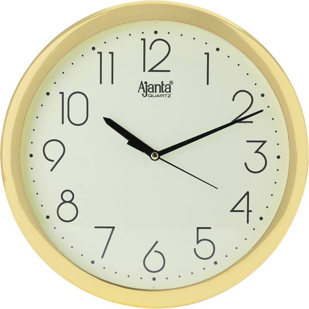 AJANTA Analog 26.5 cm X 26.5 cm Wall Clock