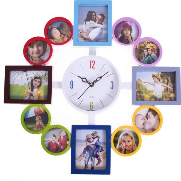 Smile2u Retailers Analog 40.5 cm X 40.5 cm Wall Clock