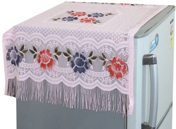 YELLOW WEAVES Refrigerator  Cover