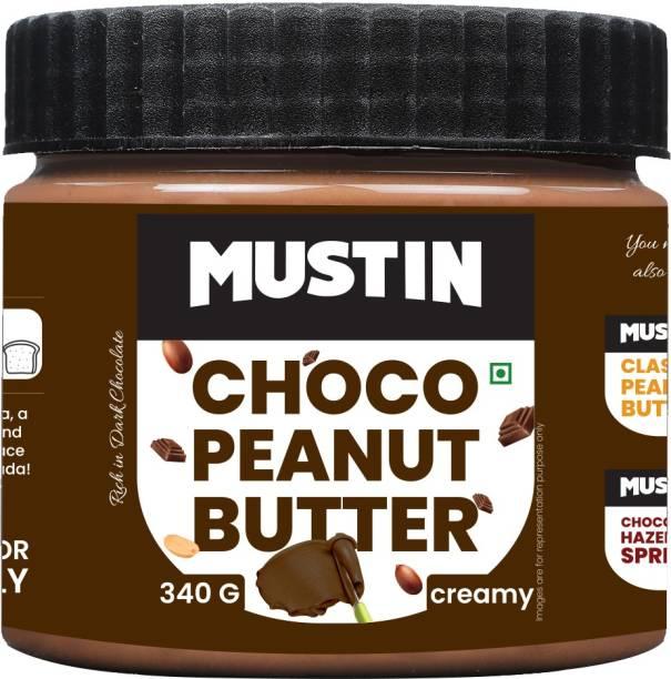 Mustin Chocolate Peanut Butter 340 g