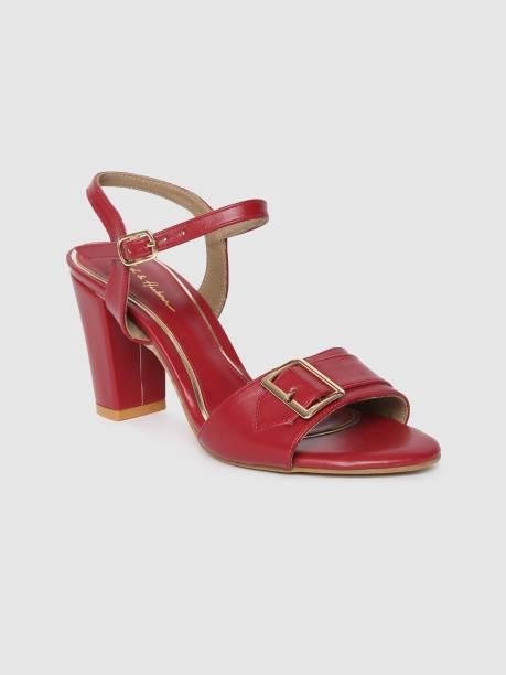 MAST & HARBOUR Women Red Heels