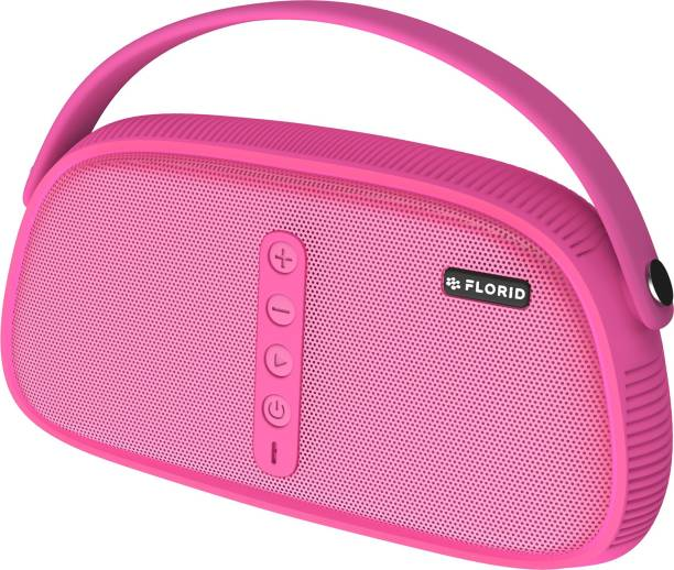 FLORID Star 11 Water Resistance Portable Bluetooth Wireless Speakers Palm-held Style (Pink) 12 W Bluetooth Speaker