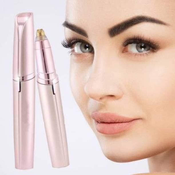 VILEZA Eyebrow Trimmer Face, Lips, Nose Hair Removal Trimmer, face Hair Remover  Runtime: 120 min Trimmer for Men & Women