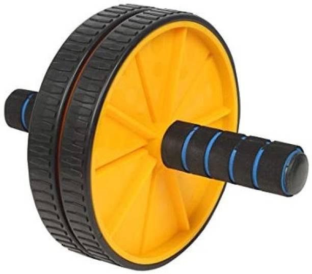 Venix Pro Ab Wheel Roller Anti Skid Double Wheel Total Body AB Roller Exerciser Ab Exerciser