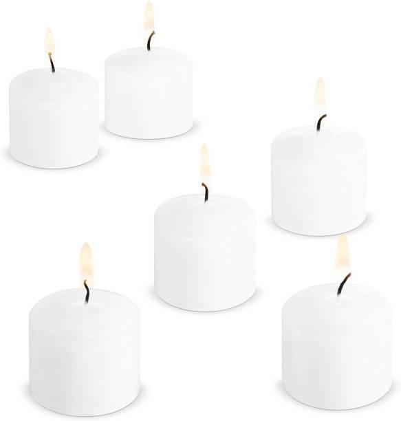 AuraDecor Set of 6 Jasmine Fragrance Votive Candle Candle