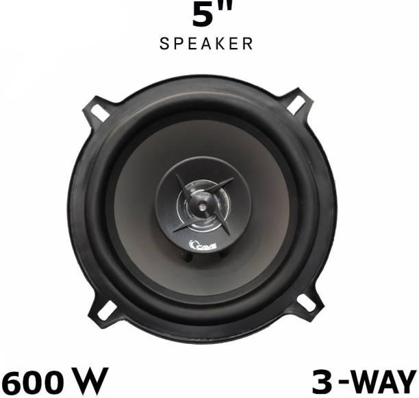 Cave 5-Inch 3-Way Coaxial Car Speaker With Inbuilt Tweeters (500 W) RJ-1340 Coaxial Car Speaker