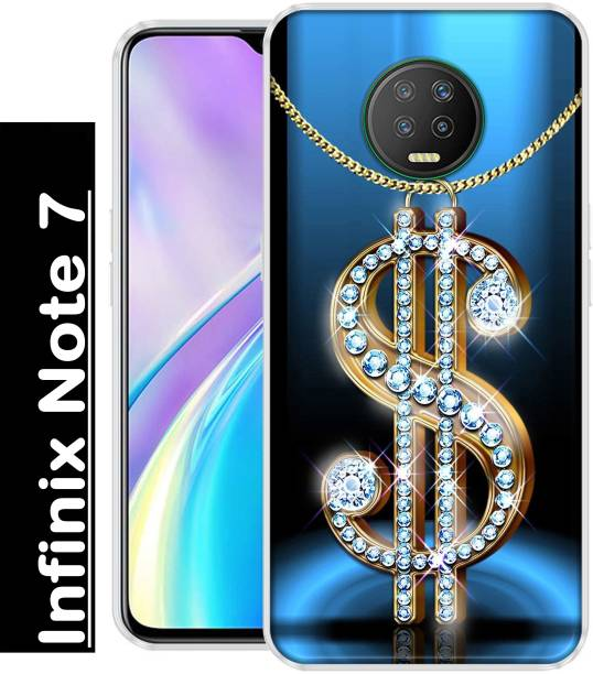 INDIALAND Back Cover for Infinix Note 7