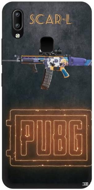Snapcrowd Back Cover for Vivo y95 Pubg Scra-l Gun back cover