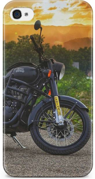 Accezory Back Cover for Apple iPhone 4s, BIKE, ROYAL ENFIELD, mom dad