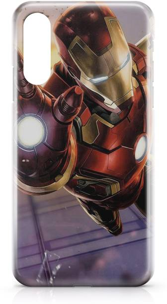 Accezory Back Cover for OPPO Reno3 Pro, CAPTAIN AMERICA, IRON MAN, AVENGERS, Printed