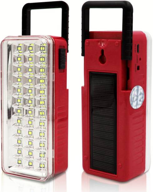 Make Ur Wish Solar High Quality 36High-Bright LED Light with Android Charging Support Rechargeable Emergency Light with Solar Lantern Emergency Light