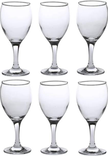 Shri Vasunandi Traders (Pack of 6) SVT_Wine2_Po6 1 Glass Set