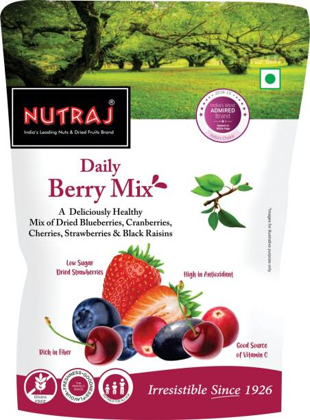 Nutraj Daily Berry Mix Strawberries, Blueberry, Cranberries, Raisins, Cherries