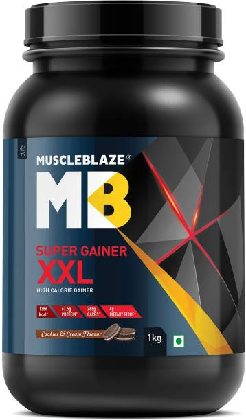 MUSCLEBLAZE Super Gainer XXL Weight Gainers/Mass Gainers