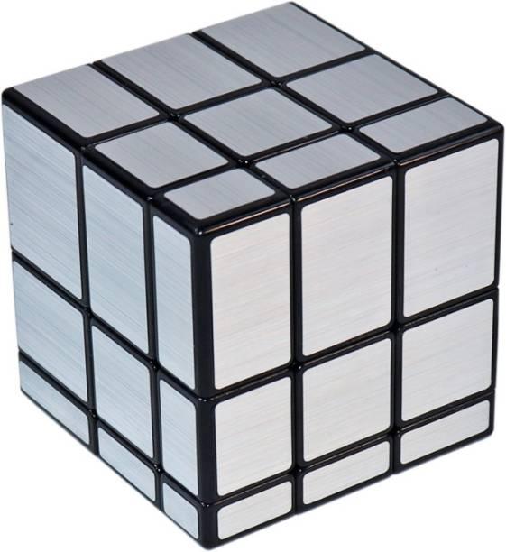 Tector QiYi High-Stability 3x3x3 Mirror Magic Rubic Cube - Silver