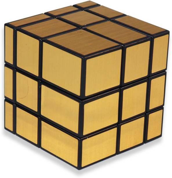 Tector 3x3x3 High-Speed Mirror Magic Rubic Cube - Gold