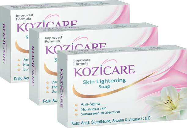 West Coast Kozicare Skin Whitening Soap (Pack of 3)
