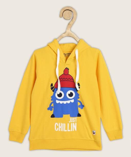 Miss & Chief Full Sleeve Graphic Print Boys Sweatshirt