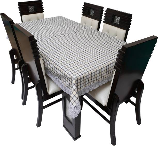 Glassiano Printed 6 Seater Table Cover