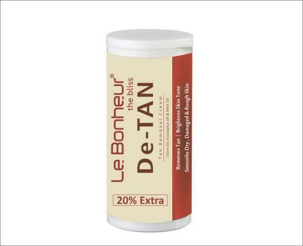 Le Bonheur Professional De Tan Cream Men & Women   Tan Removal   Prevents from furthe Tanning Men & Women