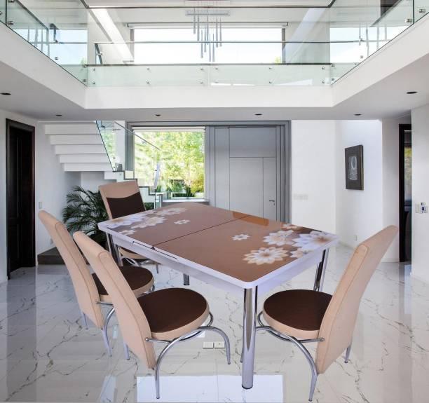 LOYAL FURNITURE Engineered Wood 4 Seater Dining Set