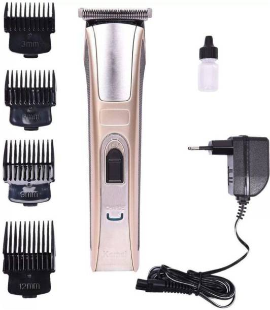 Kemei KM 5017 Rechargeable Trimmer (BABY HAIR CUT EXPERT)  Runtime: 60 min Trimmer for Men